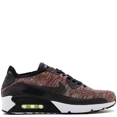 875943-002 . NIKE AIR MAX 90 ULTRA 2.0 FLYKNIT BLACK / CRIMSON