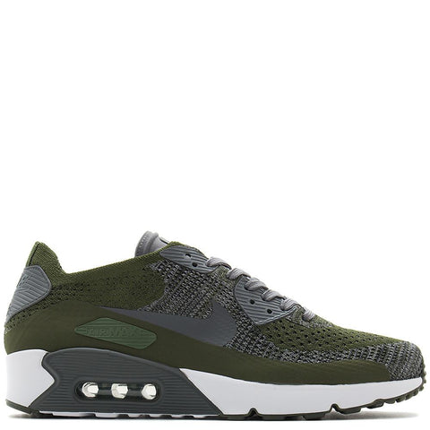NIKE AIR MAX 90 ULTRA 2.0 FLYKNIT / ROUGH GREEN