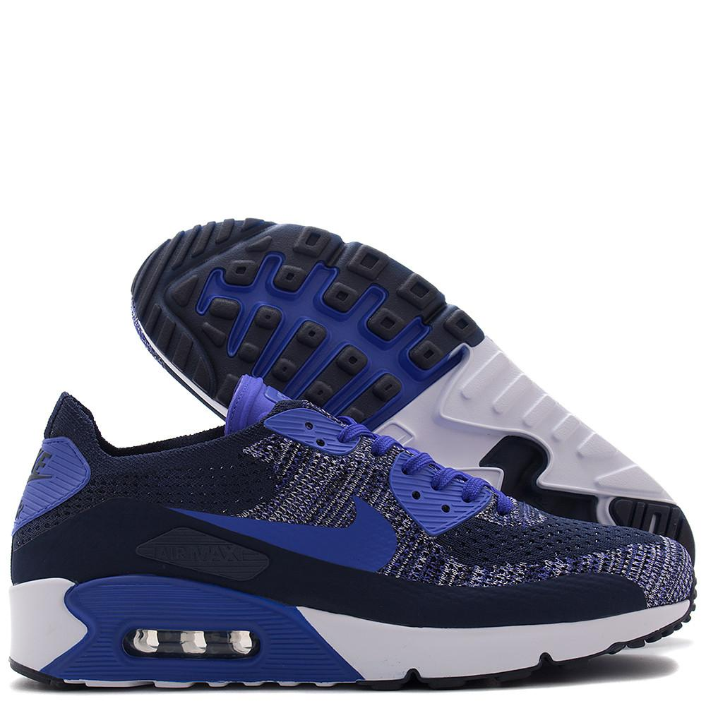 NIKE AIR MAX 90 ULTRA 2.0 FLYKNIT / COLLEGE NAVY