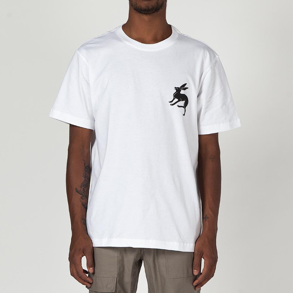 MAHARISHI NOUSAGI ORGANIC COTTON T-SHIRT / WHITE