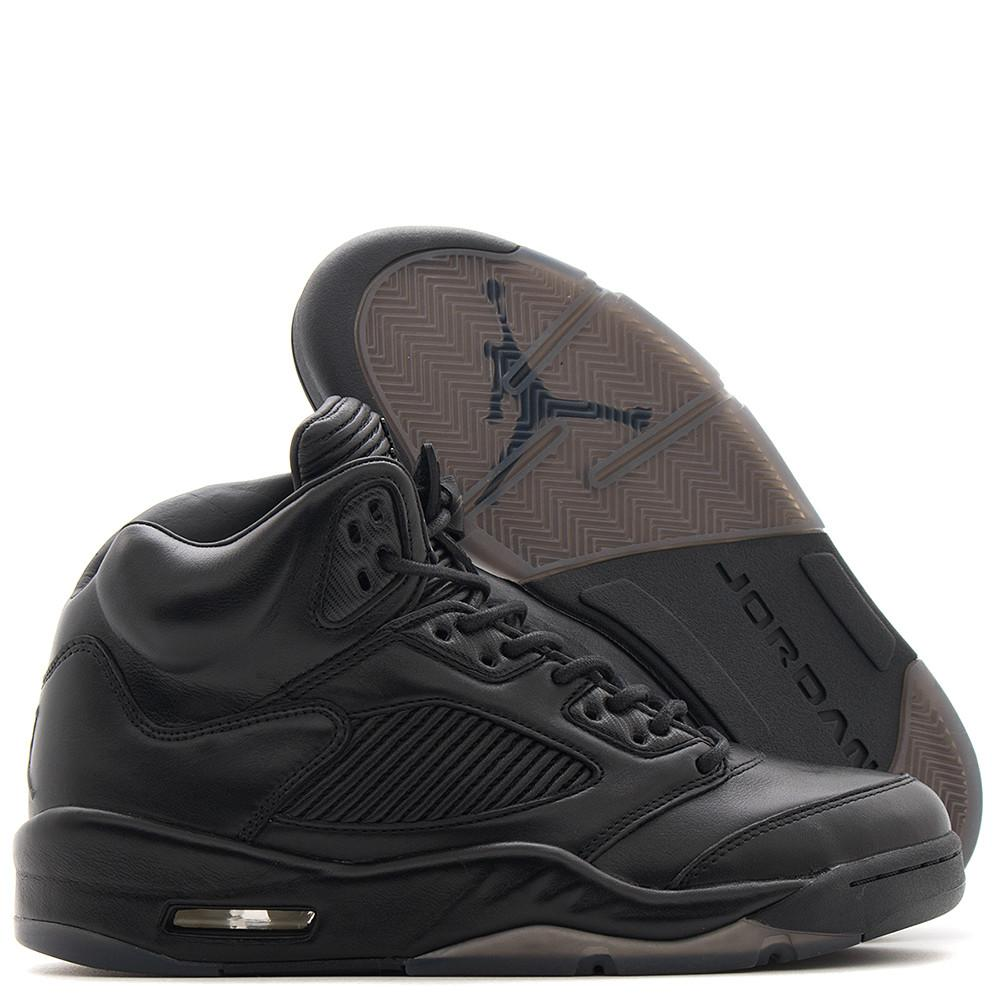 JORDAN 5 RETRO PREMIUM QS / TRIPLE BLACK