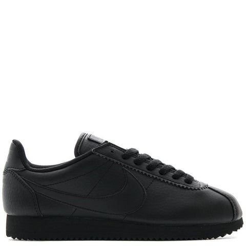 NIKE WOMEN'S BP QS CORTEZ STR LTR / BLACK - 1