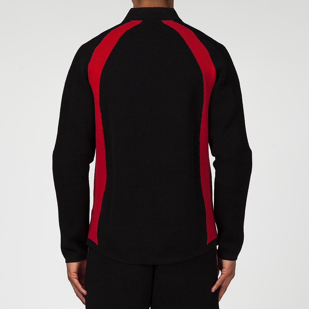 JORDAN SPORTSWEAR FLIGHT KNIT JACKET / BLACK