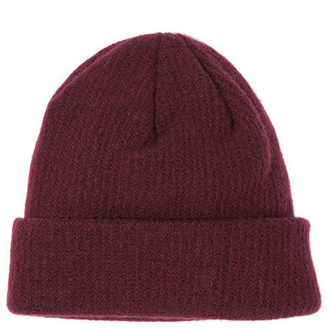 {ie CASHMERE WATCH CAP / BURGUNDY - 1