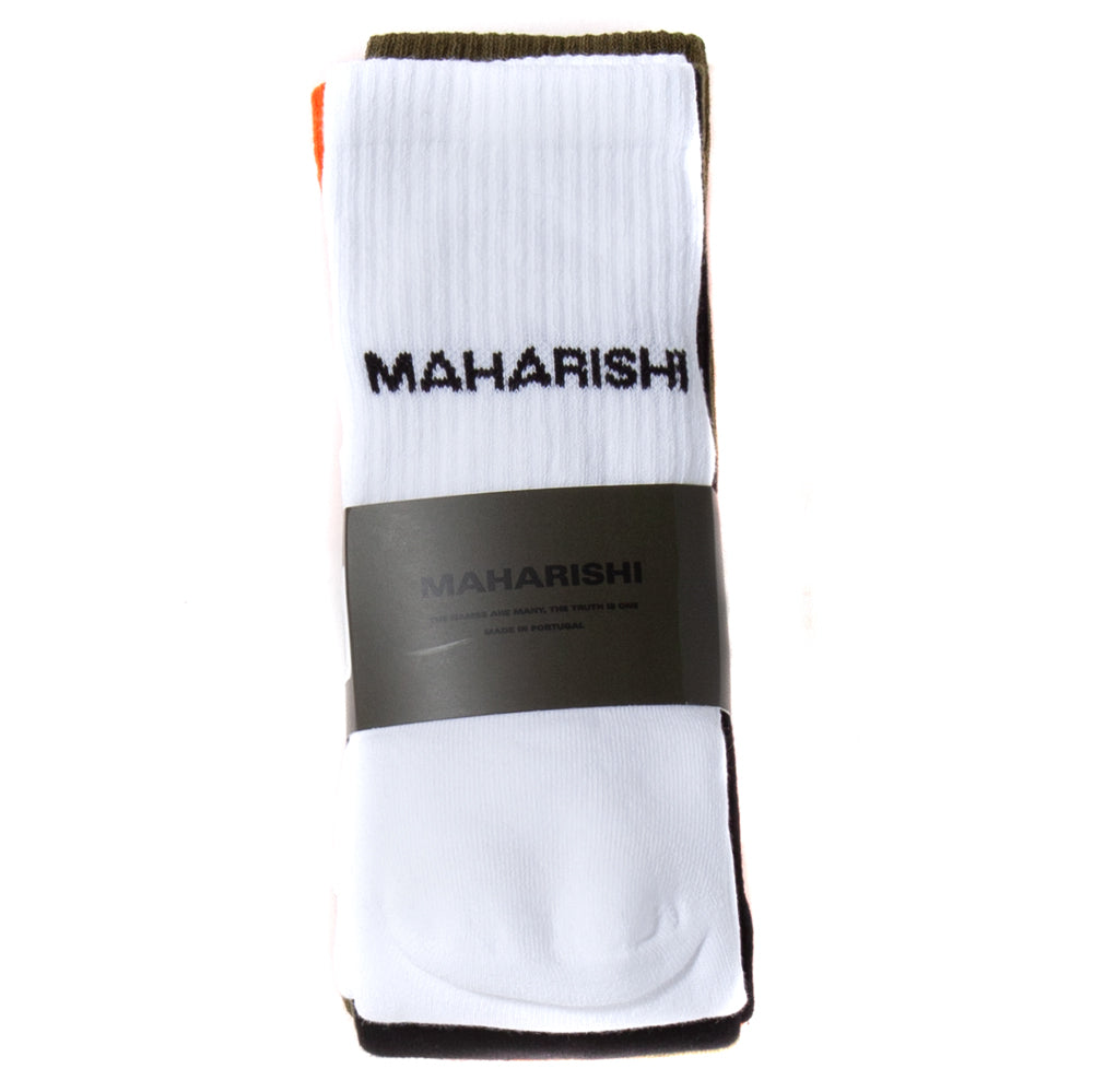 Maharishi Tabi Socks 4 Pack / Multi - Deadstock.ca