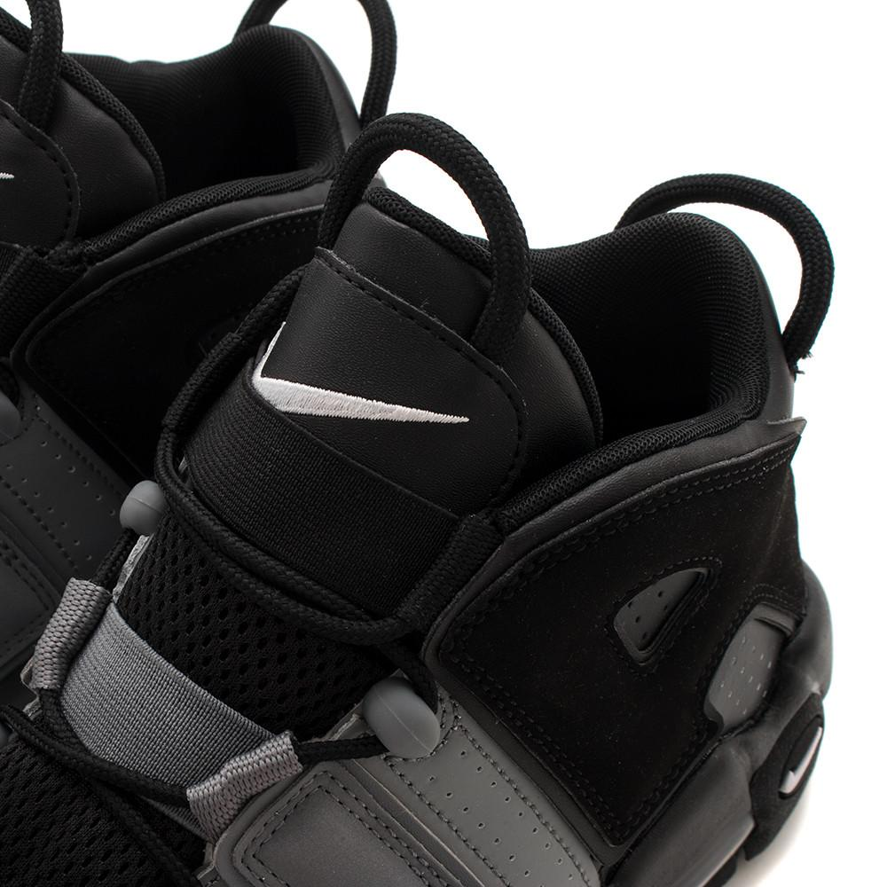 style code 921948-002. NIKE AIR MORE UPTEMPO '96 BLACK / BLACK