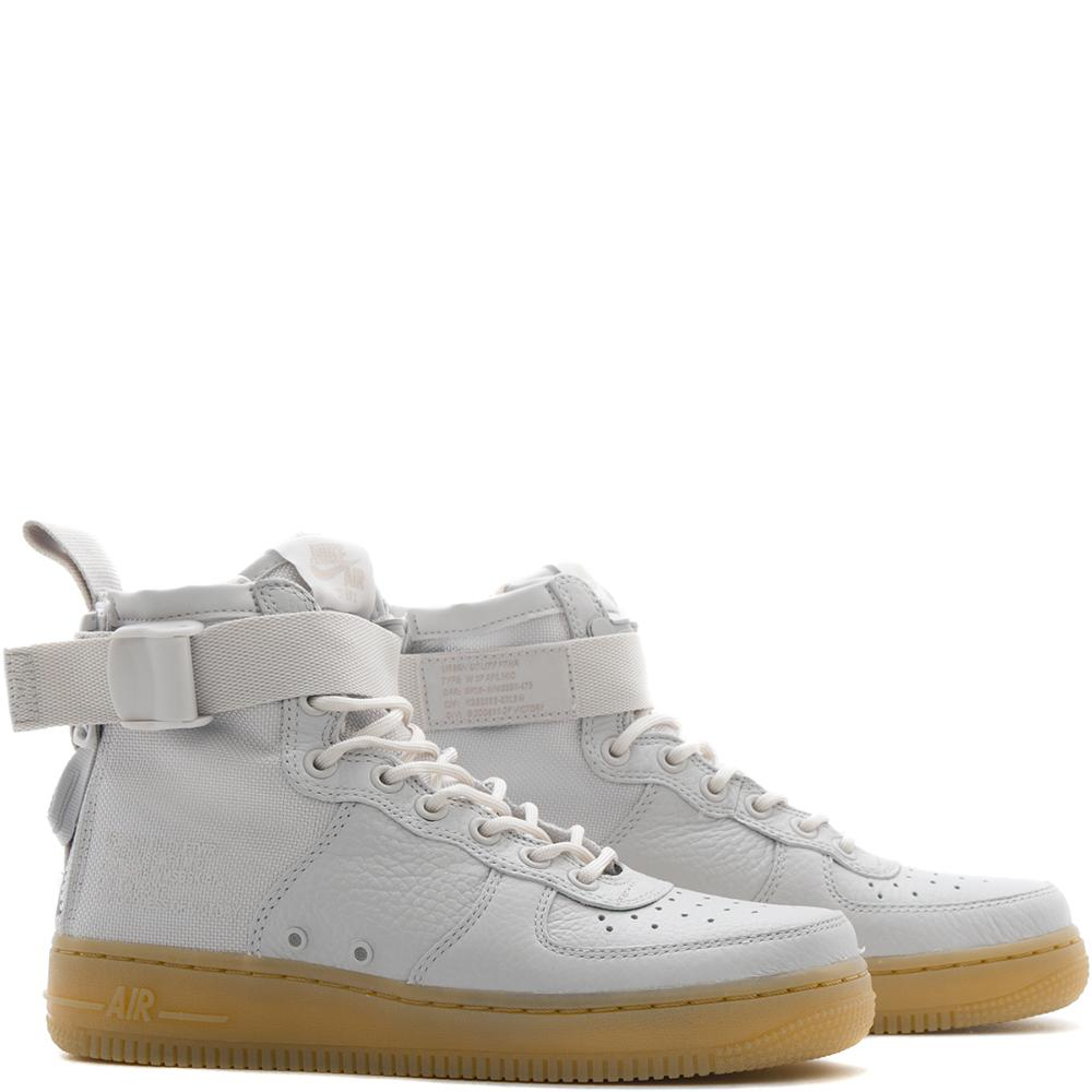 NIKE WOMEN'S SF AIR FORCE 1 MID / VAST GREY
