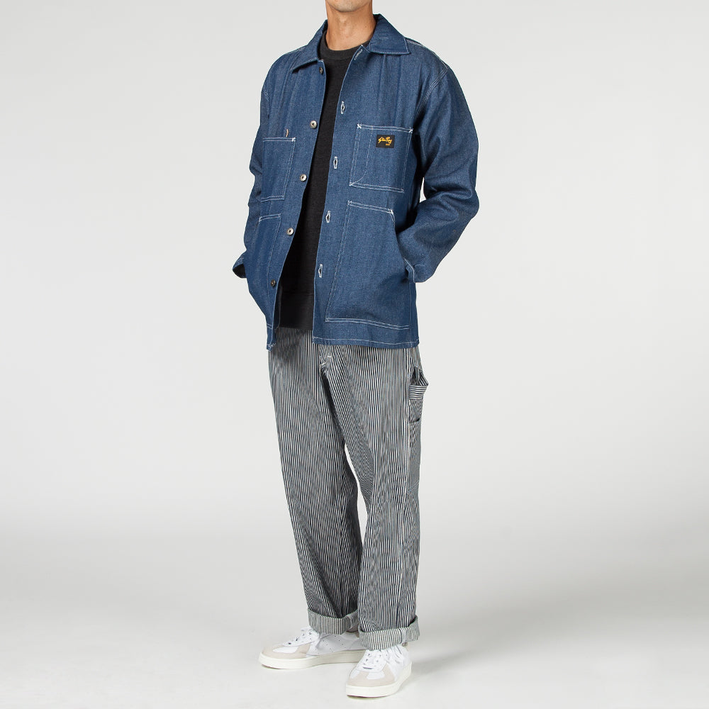 STAN RAY SHOP JACKET / 10OZ CHAMBRAY WASHED