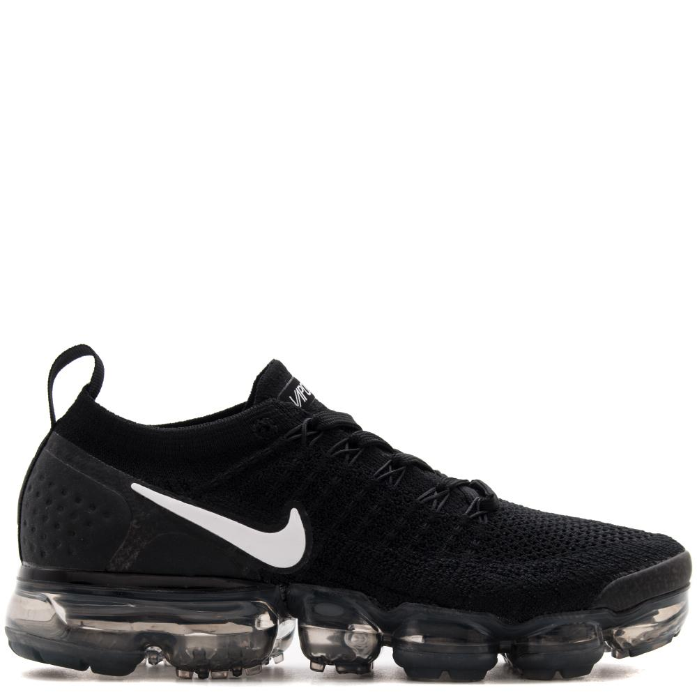 01566f7db5a NIKE AIR VAPORMAX FLYKNIT 2 BLACK WHITE Bargain Mens ...