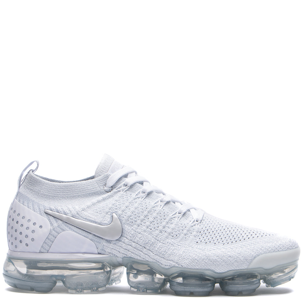 Style code 942842-105. Nike Air Vapormax Flyknit 2 / White