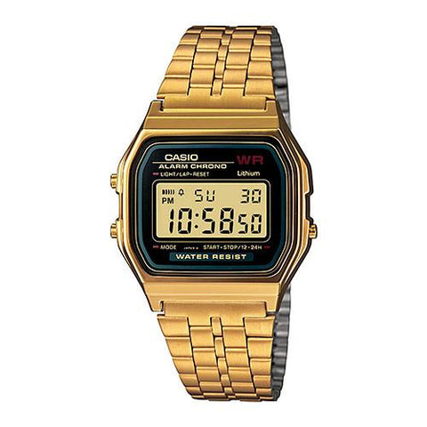 CASIO GOLD EDITION DIGITAL (A159WGEA-1VT) / GOLD. Style code A159WGEA-1.