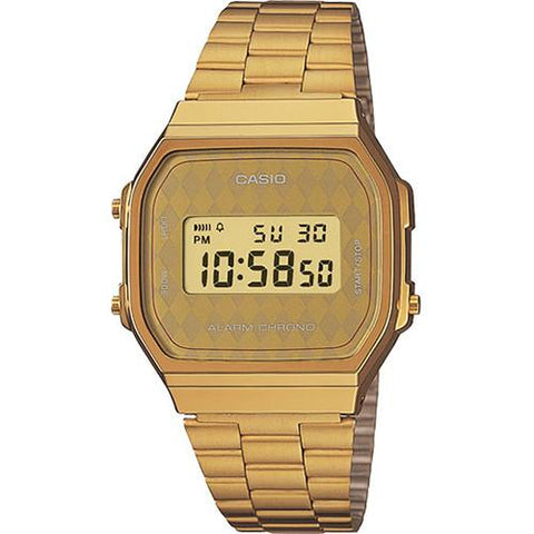 CASIO VINTAGE WATCH GOLD / DIAMOND