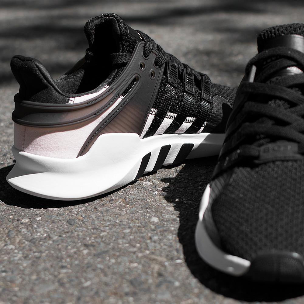 style code BY9110. ADIDAS WOMEN'S ORIGINALS EQT SUPPORT ADV / CORE BLACK