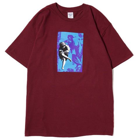 ACAPULCO GOLD ILLUSION T-SHIRT / BURGUNDY - 1