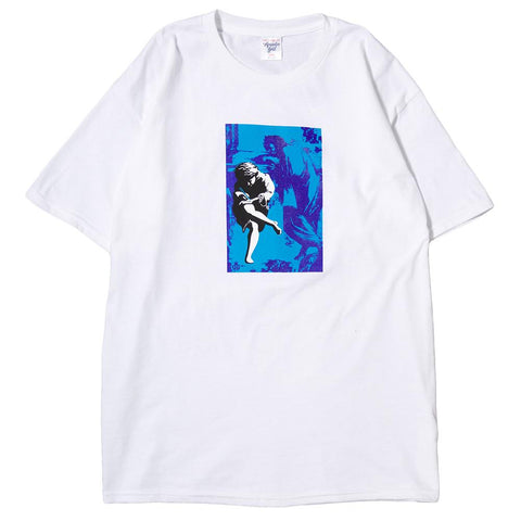 ACAPULCO GOLD ILLUSION T-SHIRT / WHITE - 1