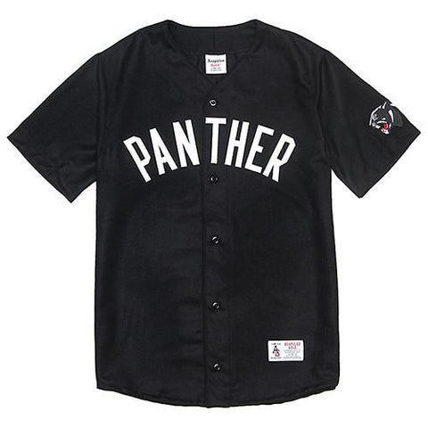 ACAPULCO GOLD PANTHER BASEBALL JERSEY / BLACK - 1