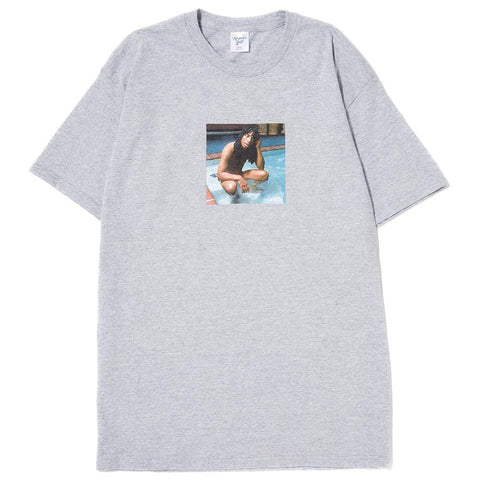 style code AGSP171022GRY. ACAPULCO GOLD SUPER FREAK T-SHIRT / HEATHER GREY