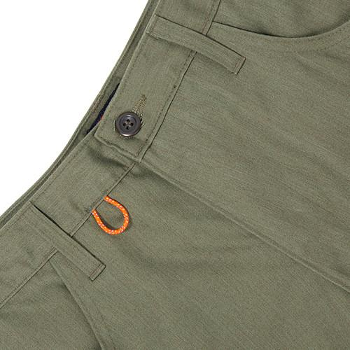 ACAPULCO GOLD AG SAFARI SHORTS / OLIVE - 3
