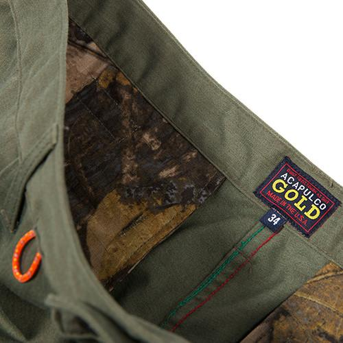 ACAPULCO GOLD AG SAFARI SHORTS / OLIVE - 5