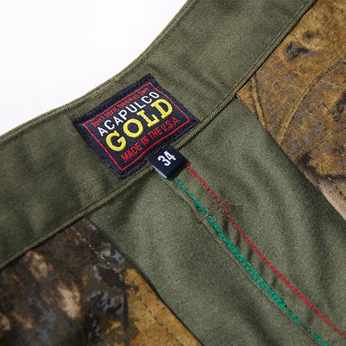 ACAPULCO GOLD AG SAFARI SHORTS / OLIVE - 6