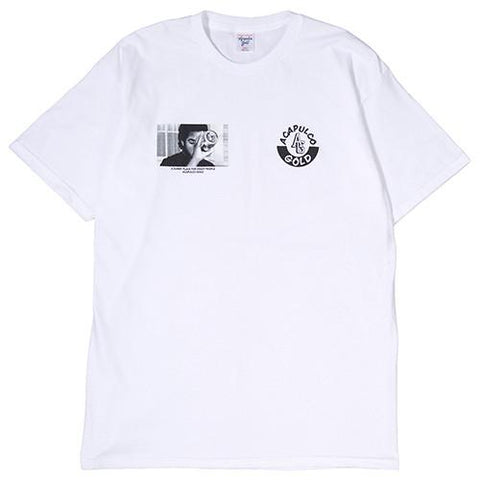 ACAPULCO GOLD STOOP T-SHIRT / WHITE - 1