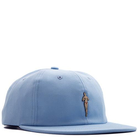 ACAPULCO GOLD FAST TIMES METAL LOGO 6 PANEL / LIGHT BLUE - 1