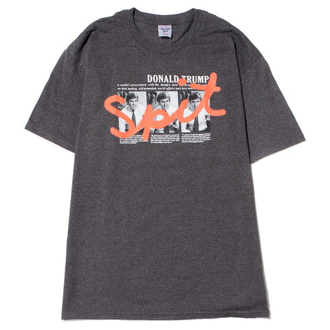 style code AGSU1701GRY.ACAPULCO GOLD ART OF THE STEAL T-SHIRT / CHARCOAL GREY