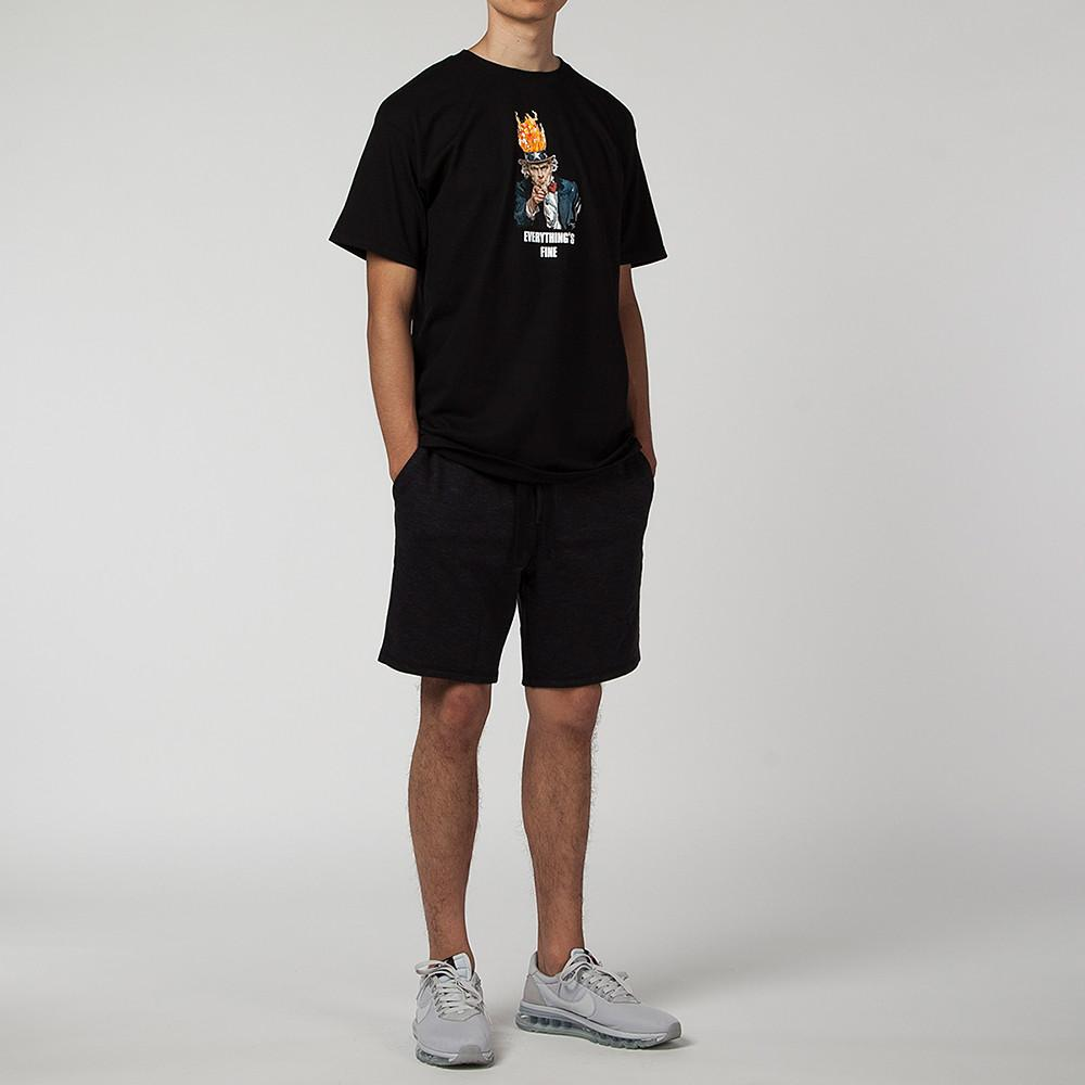 ACAPULCO GOLD EVERYTHING'S FINE T-SHIRT / BLACK