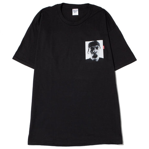 style code AGSU1704BLK. ACAPULCO GOLD FRIDAY T-SHIRT / BLACK