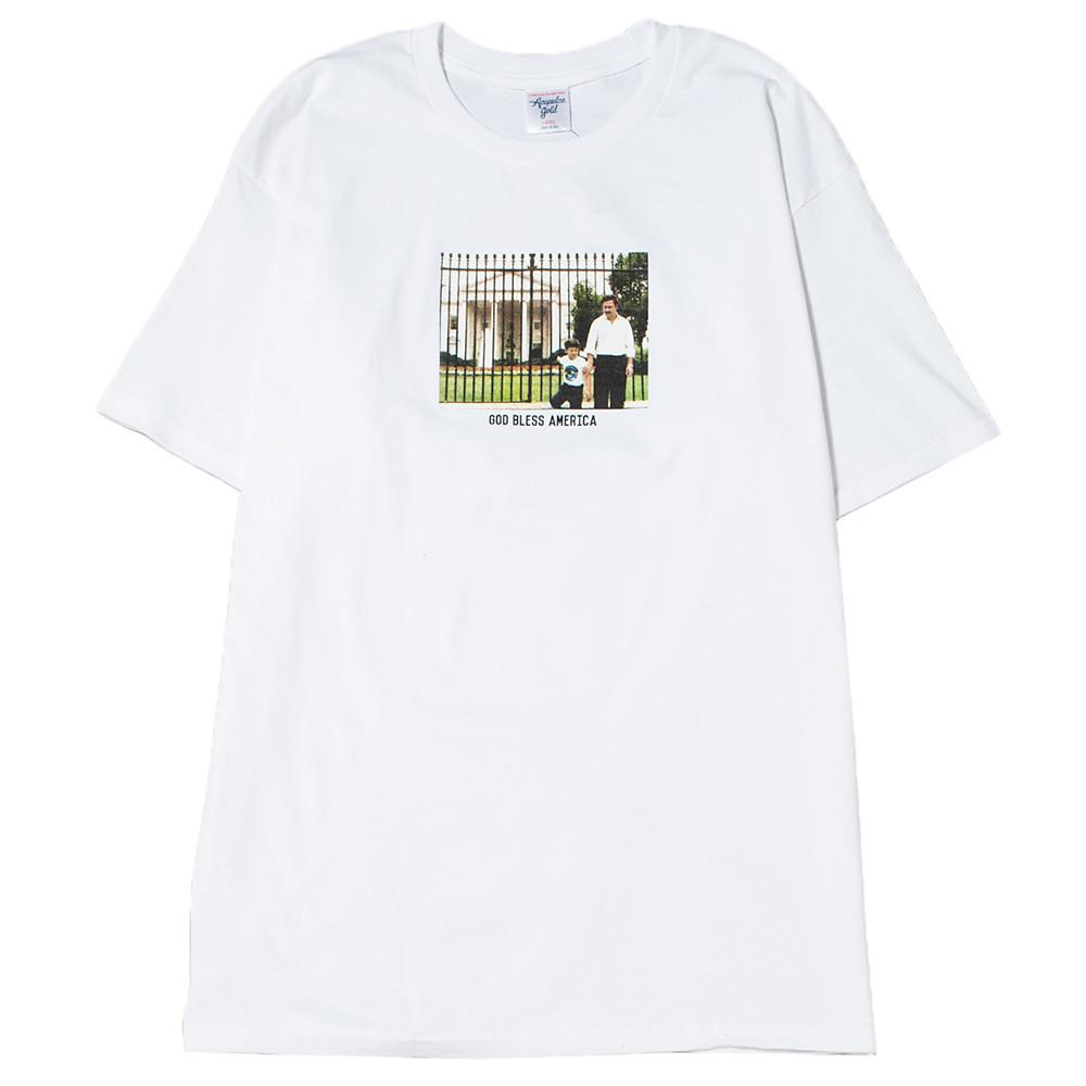 style code AGSU1705WHT. ACAPULCO GOLD FATHERS DAY T-SHIRT / WHITE