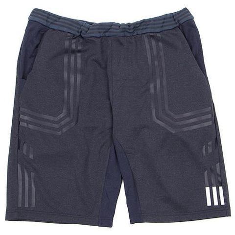 ADIDAS ORIGINALS X WHITE MOUNTAINEERING SWEAT SHORT PANT / NIGHT NAVY - 1
