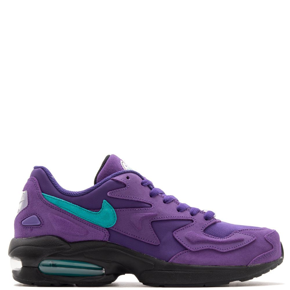 low priced 42d77 6a30b AO1741-500 Nike Air Max 2 Light Court Purple   Spirit Teal