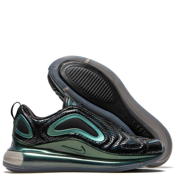 Nike Air Max 720 Black / Metallic Silver - Deadstock.ca