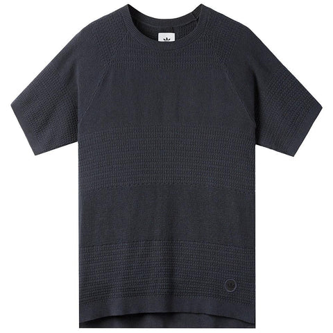 ADIDAS CONSORTIUM X WINGS + HORNS LINEAR T-SHIRT / NIGHT NAVY