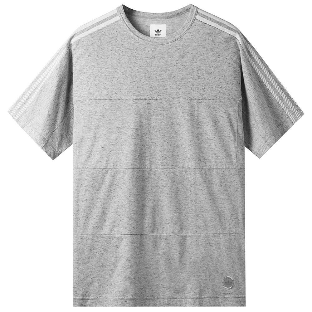 style code BK0207. ADIDAS CONSORTIUM X WINGS + HORNS T-SHIRT / OFF WHITE