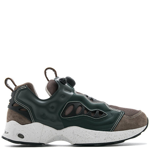 REEBOK X GARBSTORE INSTAPUMP FURY ROAD BROWN PIG SUEDE / FOREST GREEN - 1
