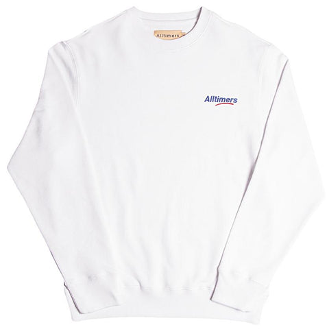 ALLTIMERS ESTATE LOGO CREW / WHITE - 1