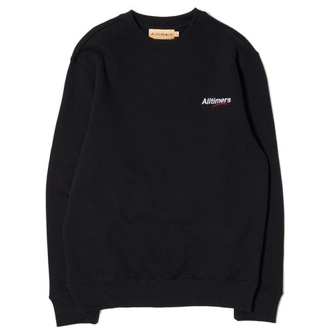 ALLTIMERS ESTATE LOGO CREW / BLACK - 1
