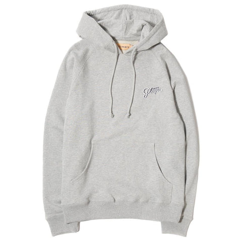 ALLTIMERS LOGO HOODY / GREY - 1