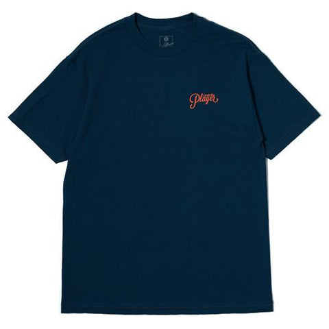 ALLTIMERS LOGO T-SHIRT HARBOUR / ORANGE - 1