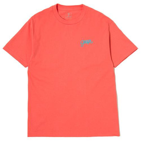 ALLTIMERS LOGO T-SHIRT CORAL / TURQUOISE - 1