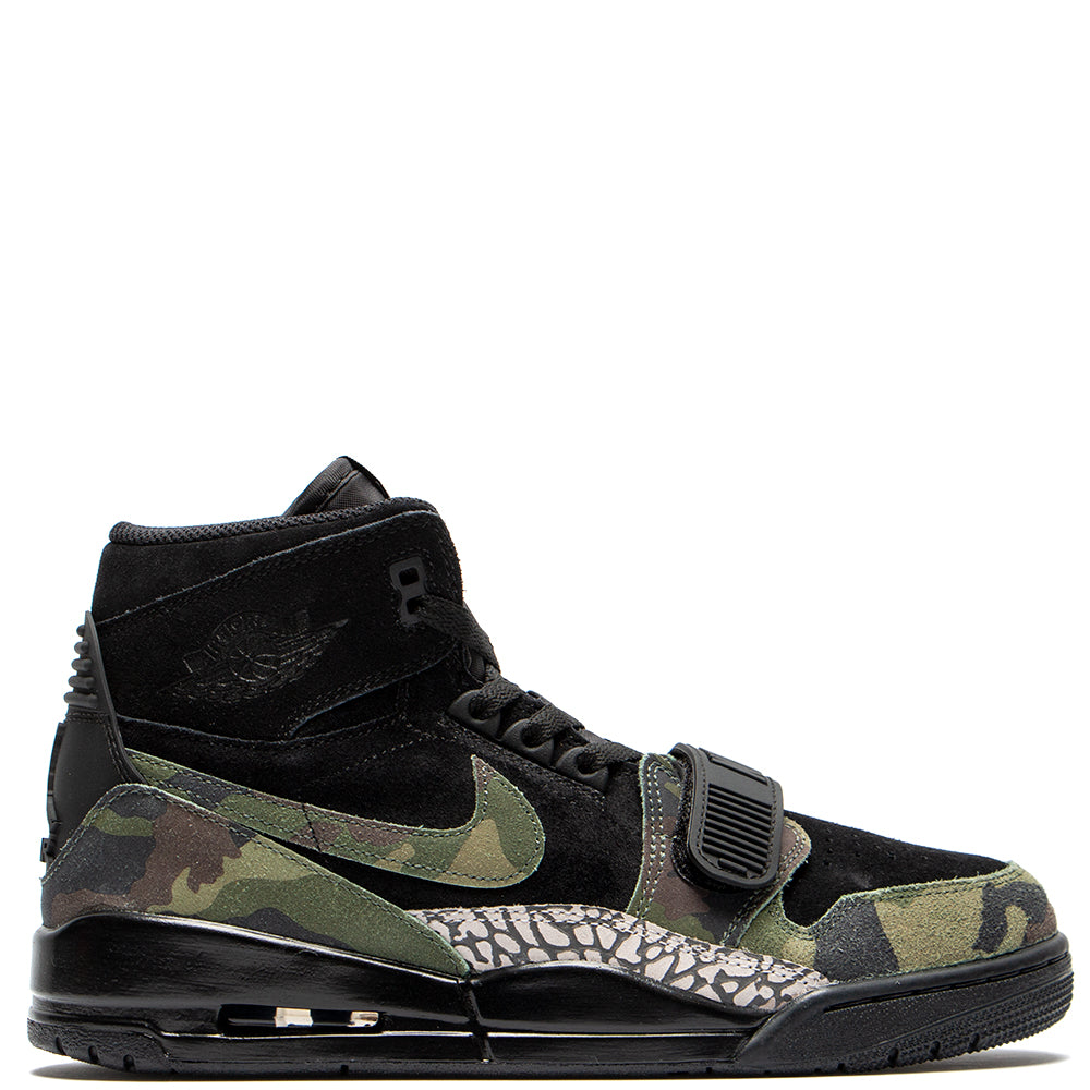 new product 099b9 5dafb AV3922003 Jordan Legacy 312 Black   Camo Green