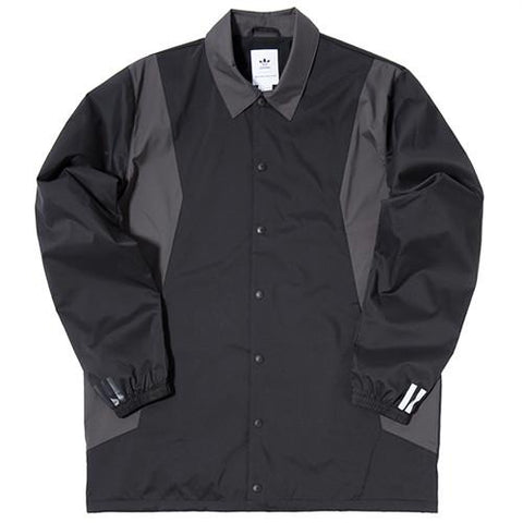 ADIDAS BY WHITE MOUNTAINEERING LONG BENCH JACKET / BLACK - 1