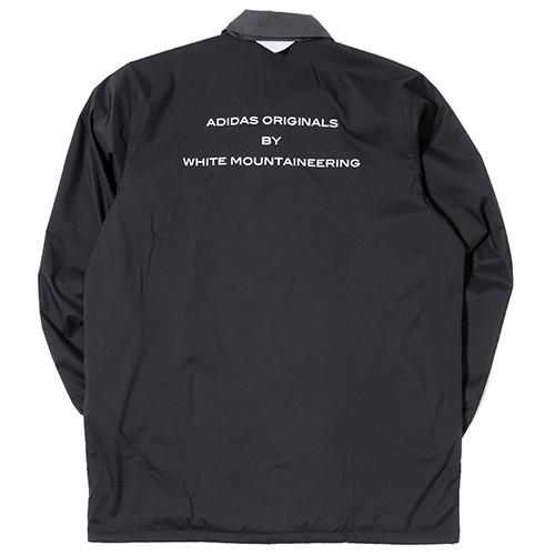 ADIDAS BY WHITE MOUNTAINEERING LONG BENCH JACKET / BLACK - 2