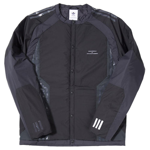 ADIDAS BY WHITE MOUNTAINEERING PADDED CARDIGAN / BLACK - 1
