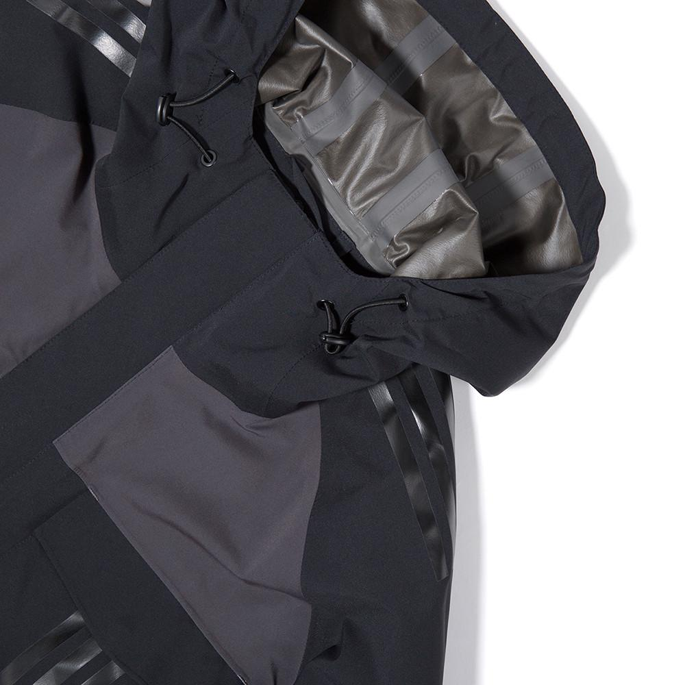 ADIDAS BY WHITE MOUNTAINEERING SHELL GORE-TEX JACKET / BLACK - 3