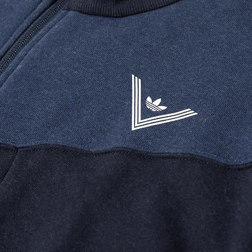 ADIDAS BY WHITE MOUNTAINEERING SWEAT ZIP UP / COLLEGIATE NAVY - 7