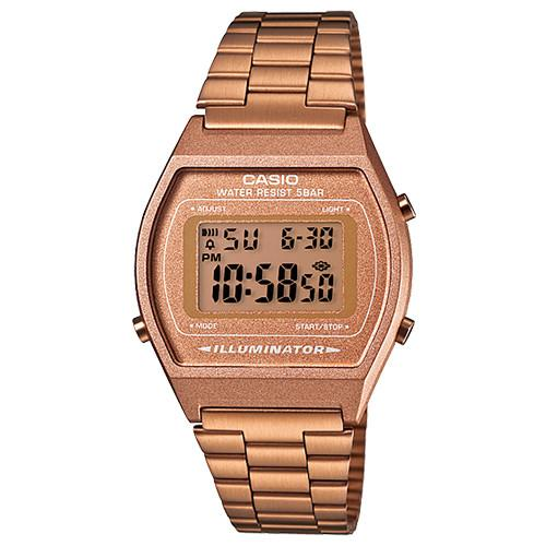 CASIO VINTAGE WATCH (B640WC-5A) / ROSE GOLD. style code B640WC5A