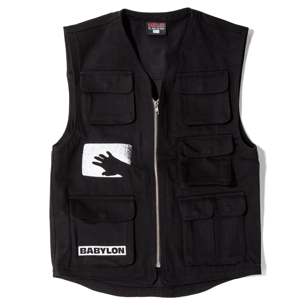 BABSP1907 Babylon Eye Vest / Black