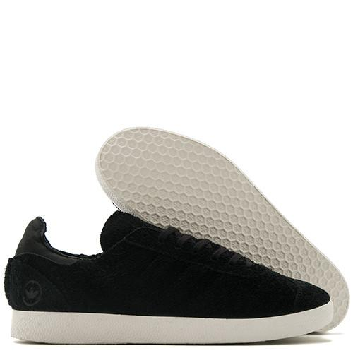 ADIDAS BY WINGS + HORNS GAZELLE 85 LEATHER / BLACK - 2